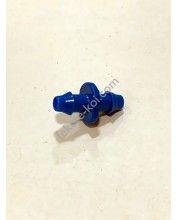 Kék körmös-körmös csatlakozó 4/7mm FLF és Rondo párásítokhoz