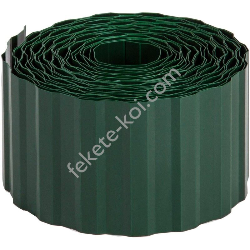 Gyepszegély zöld 9cmx9m PE