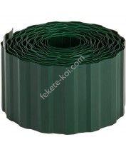 Gyepszegély zöld 15cmx9m PE