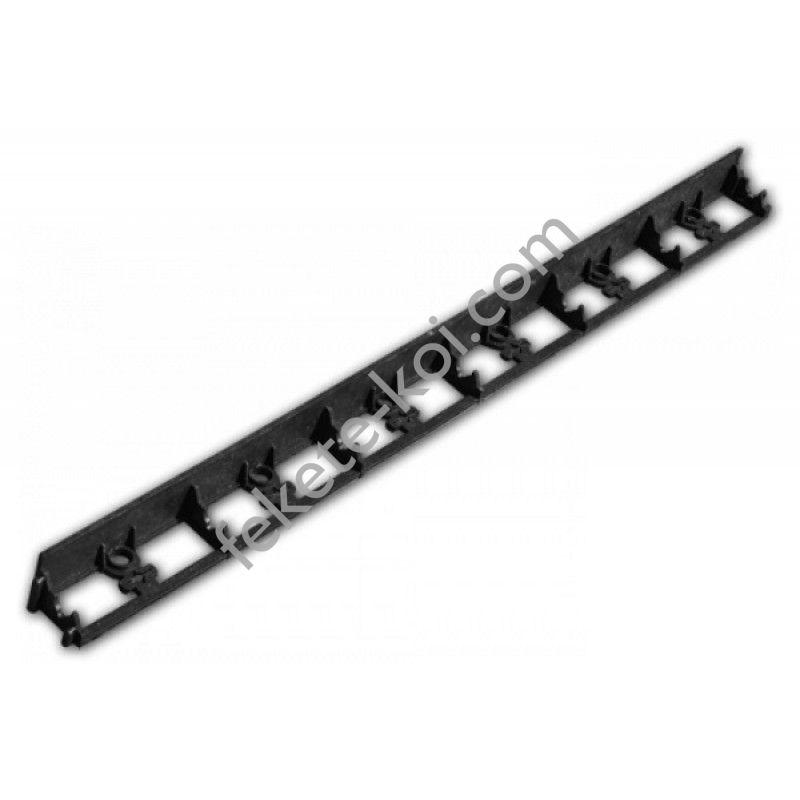 Bradas ágyásszegély fekete 1025/75/45mm (OBRB45)