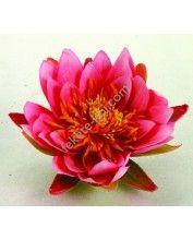 Selyemvirág, pink tavirózsa, 16 cm (1389447)
