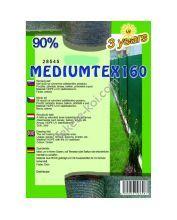 Belátásgátló, szélfogó és árnyékoló háló MEDIUMTEX 160 1x10m 90% / 28513