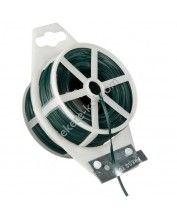 Kötöződrót zöld, vágószerkezettel - 0,6mm 50m / 6040459