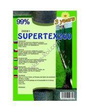 Belátásgátló, szélfogó és árnyékoló háló SUPERTEX260 1,5x10m 99% / 28581