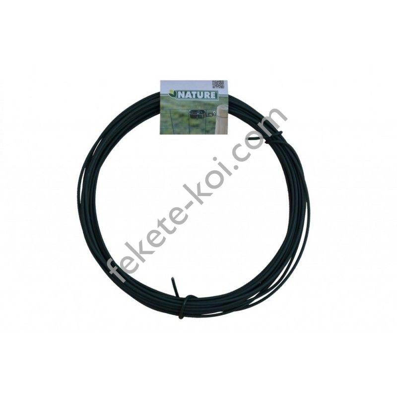 Kötöződrót zöld műanyag bevonattal 2 mm - 15 m / 6040453
