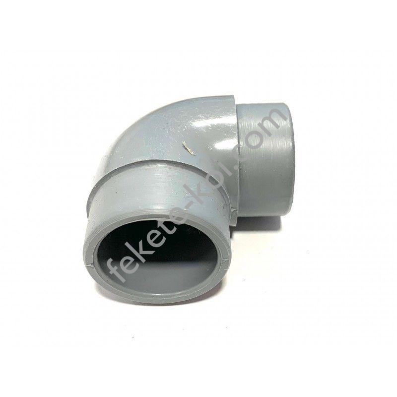 Esztergált pvc könyök idom 32mm (2xE 36,5/40)