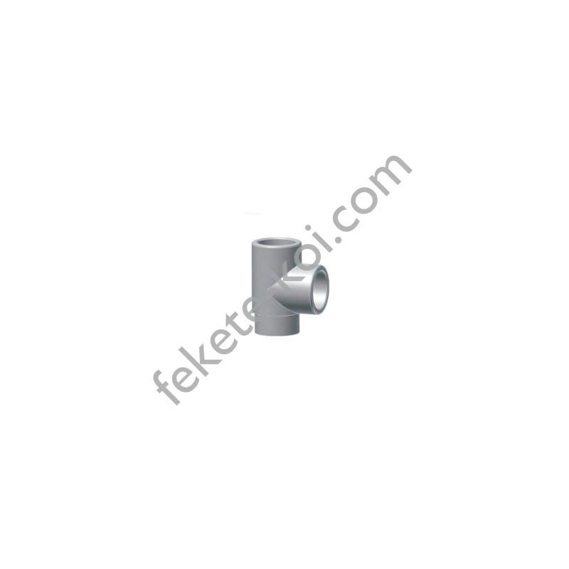Esztergált pvc T idom 40mm (1x E 46,5)