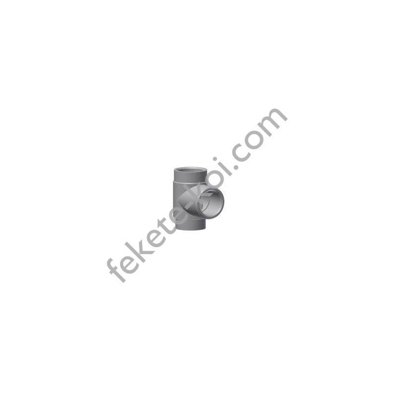 Esztergált pvc T idom 40mm (2x E 50/46,5)