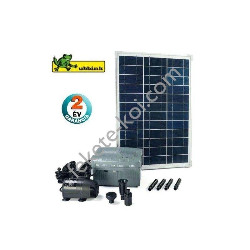 Ubbink SolarMax 1000 napelemes szökőkút szett akkumulátoros tárolóval / 1351182