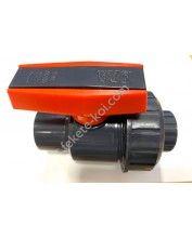 PVC csap  (25 mm) ragasztható/szerelhető