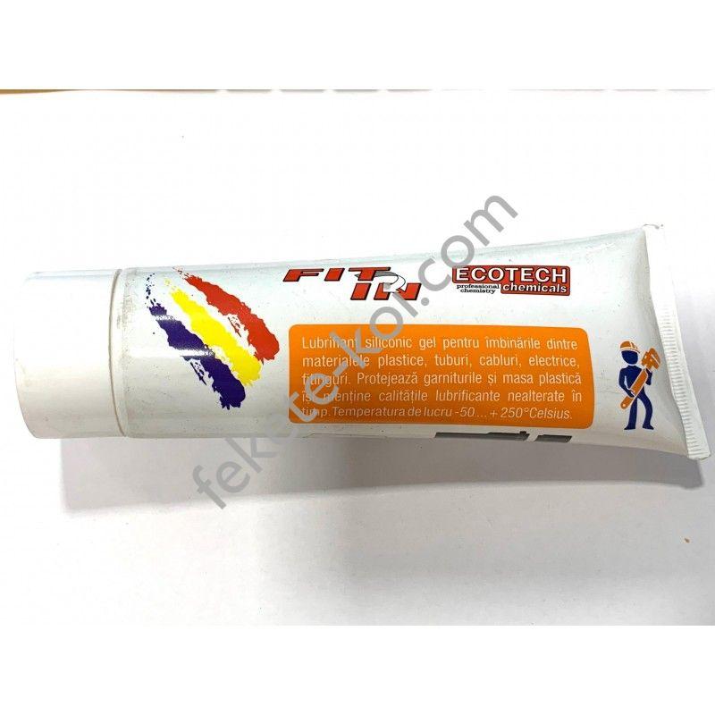 Szilikonos kenőanyag gél pvc csövekhez 250gr