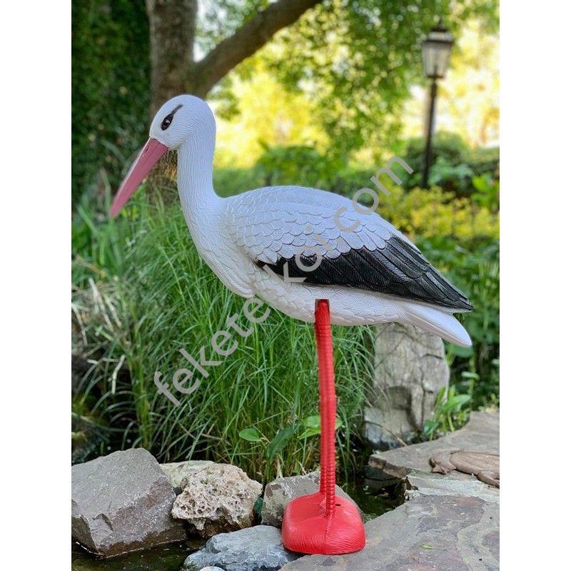 Élethű műanyag álló gólya...