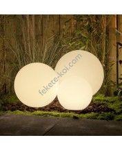 Dekoratív kerti világítás gömb 40cm