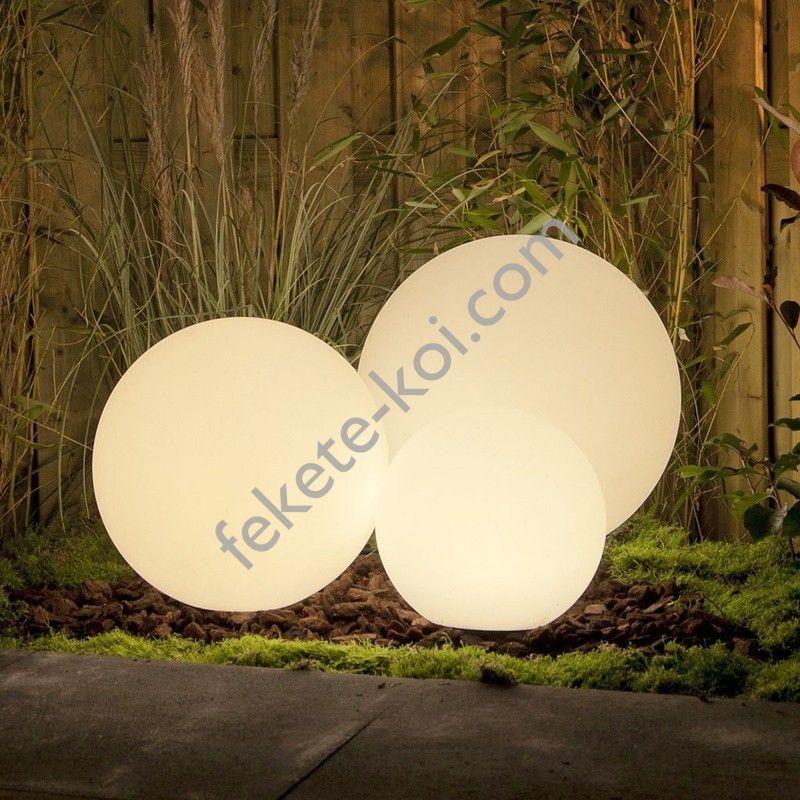 Dekoratív kerti világítás gömb 30cm