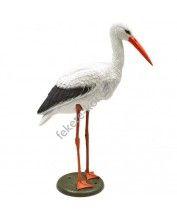 Ubbink Élethű műanyag álló gólya 88 cm