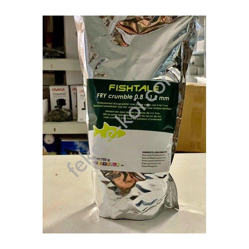 Indító Fry crumble koi haltáp 0,8-1,2 mm ( 1250 ml / 750 g )