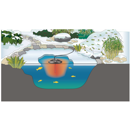 Oase IceFree Thermo 330 (befagyásgátló, jégmentesítő, légtartó)