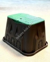Szelepakna standard zárható tetővel