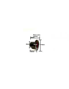 Fólia és szűrőház átvezetés összekötés 50mm extra