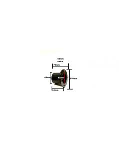 Fólia és szűrőház átvezetés összekötés 63mm extra