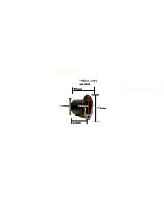 Fólia és szűrőház átvezetés összekötés 110mm extra