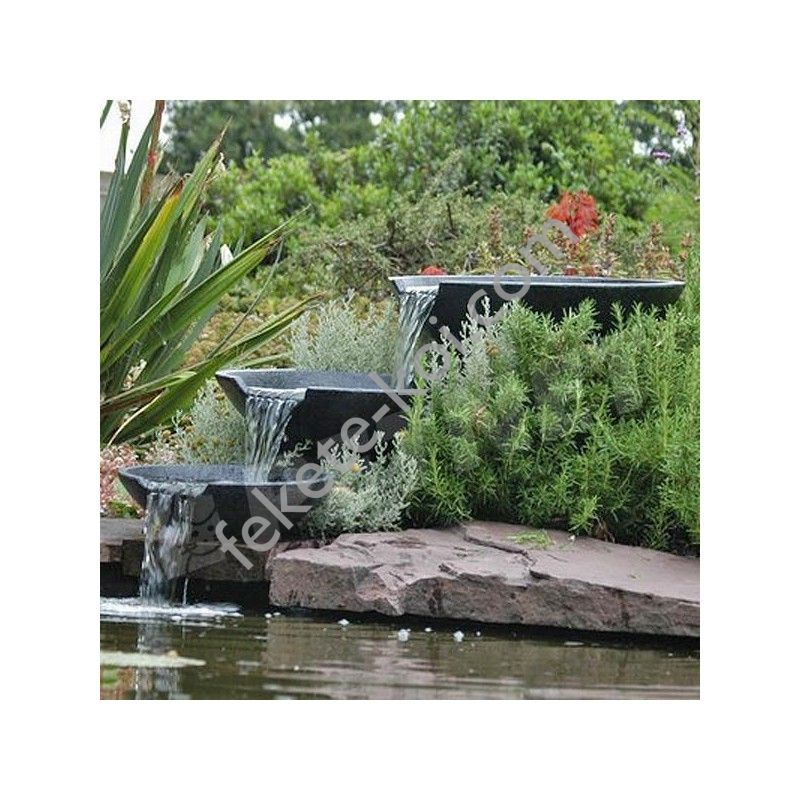 Ubbink Nova Scotia vízesés szett kerek: 35/45/55 cm + tömlő + pumpa / 1312100