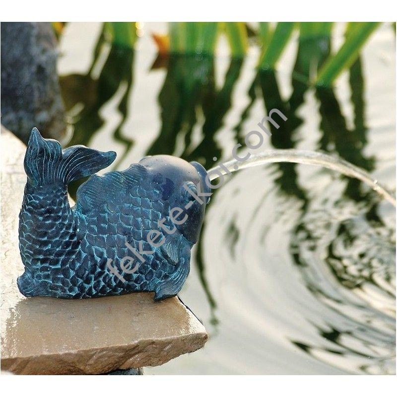 Ubbink Hal kicsi, 12,5 cm bronzszínű vízköpő figura / 1386009
