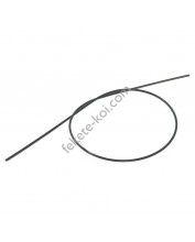 Kapillárcső (spagetticső) 3,2x0,9mm 90cm fekete