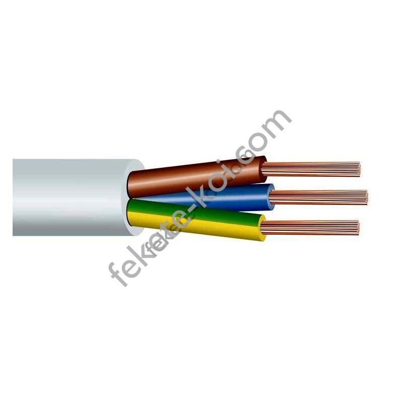 Vezérlő kábel réz 2 x 1 mm