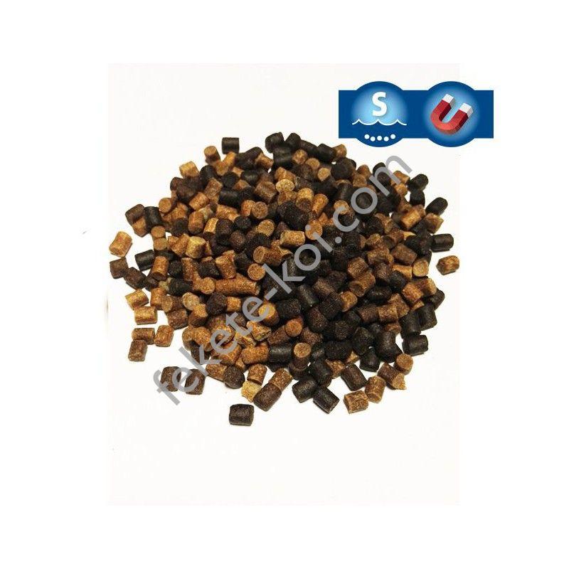Tavi süllyedős haltáp mix 3 mm  (fekete-barna ) ( 1 kg )