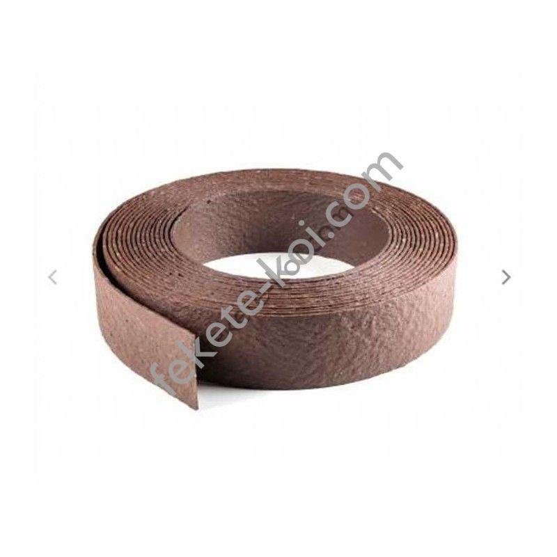 ECOLAT Tó és ágyásszegély barna 14 cm x 0,7 cm 25 fm
