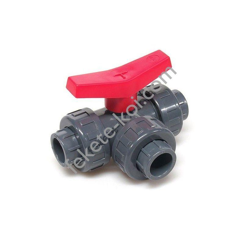 PVC ragasztható szerelhető csap  3 x 25 mm