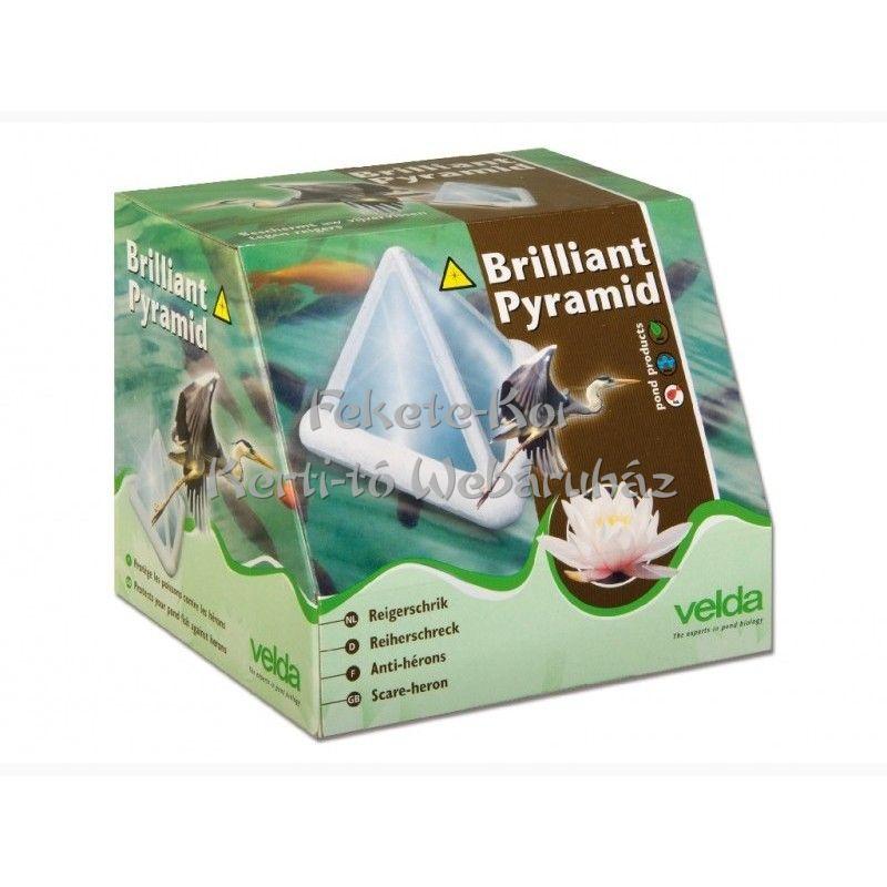 Velda Brilland Pyramid madárriasztó úszó piramis kerti tavakhoz