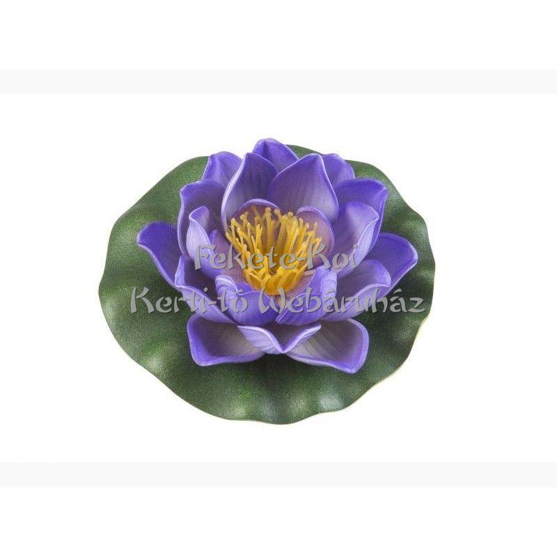 Lótus virág lila színű úszó 10 cm (123584)