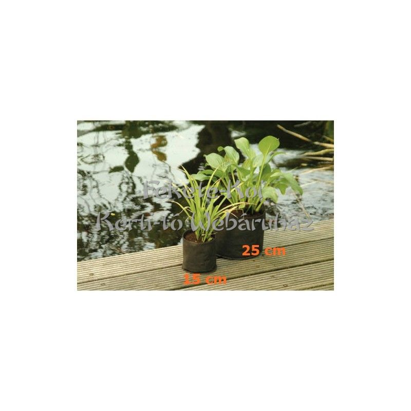 Ubbink vízinövény ültető tasak kerek 15x15cm