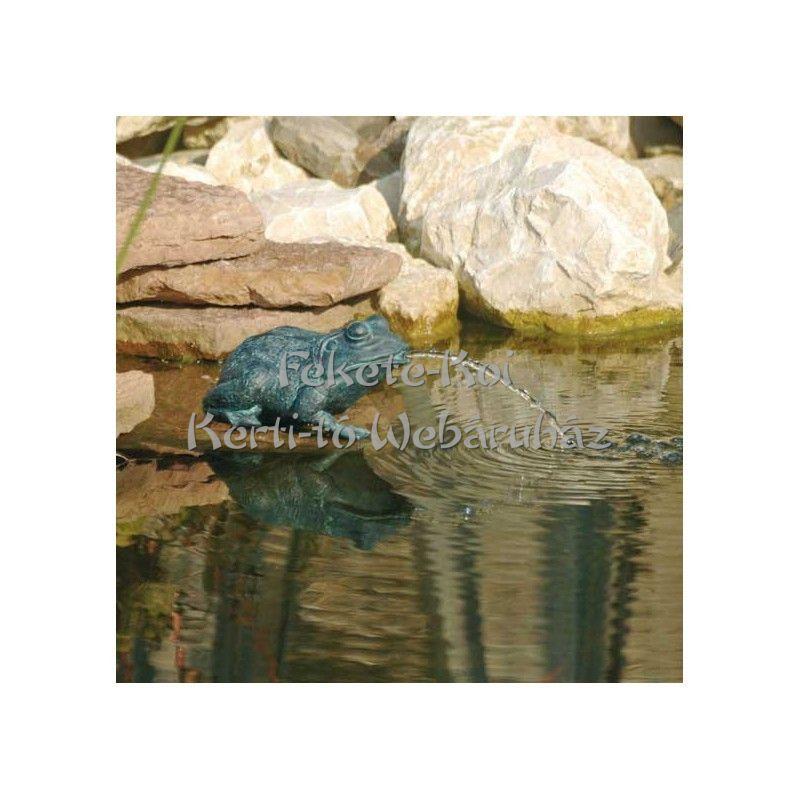 Ubbink Béka kicsi, 12 cm bronzszínű vízköpő figura / 1386008