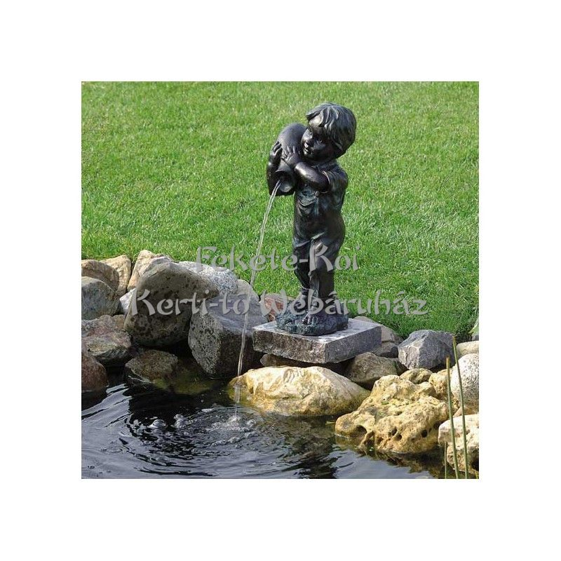 Ubbink Kisfiú / YANNICK ca. 48 cm vízköpő figura / 1386053