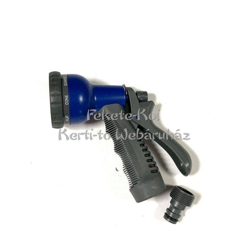 Műanyag 6 funkciós öntözőpisztoly WSP836