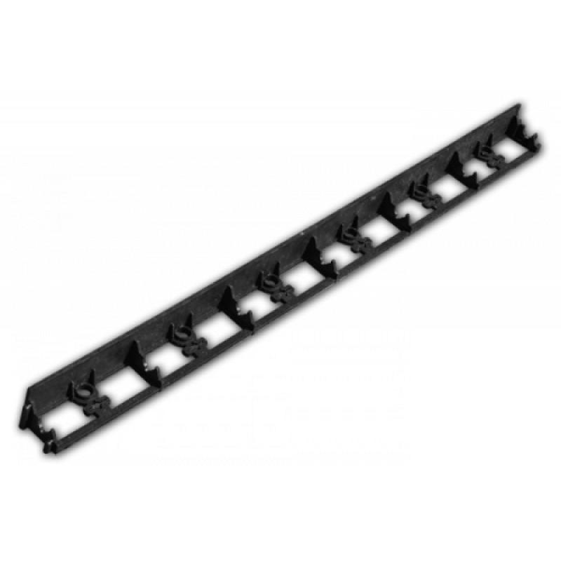 Bradas ágyásszegély fekete 1025/75/45 mm