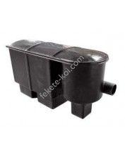 Fekete-koi 2kamrás+vortex tószűrő