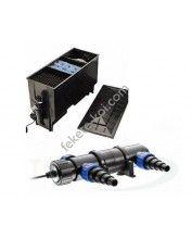 Három kamrás filter komplett 220L + Osaga UVC 18W