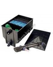 Három kamrás filter komplett 330L + Osaga UVC 36W
