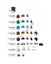 Rain Bird MPR 15TQ fix fúvóka (4.6m, 270 fokos, fekete)