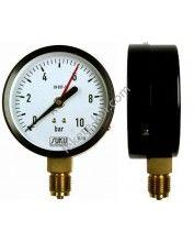 Nyomásmérő óra 0-4Bar (Álló)