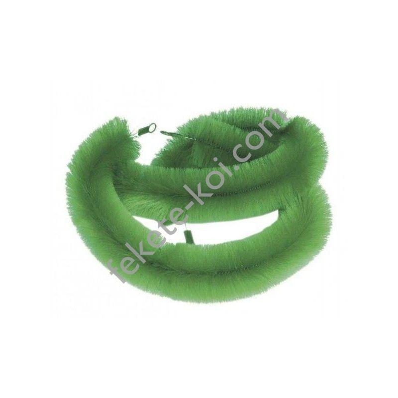 Nagyméretű zöld ikrázó kefe