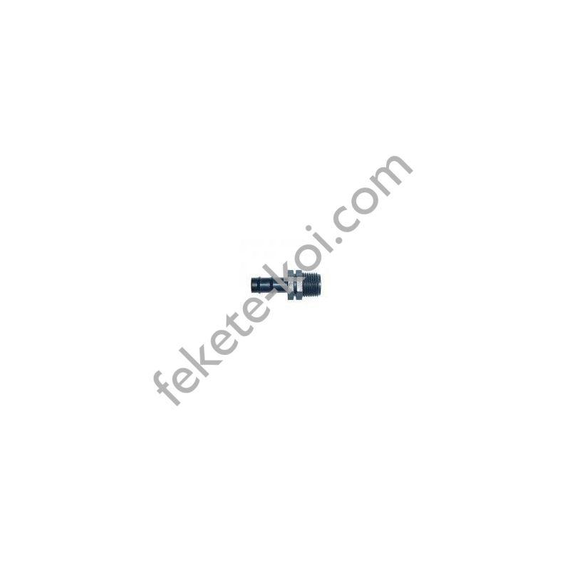 Egyenes toldó 16x1/2KM (bordás-menetes)