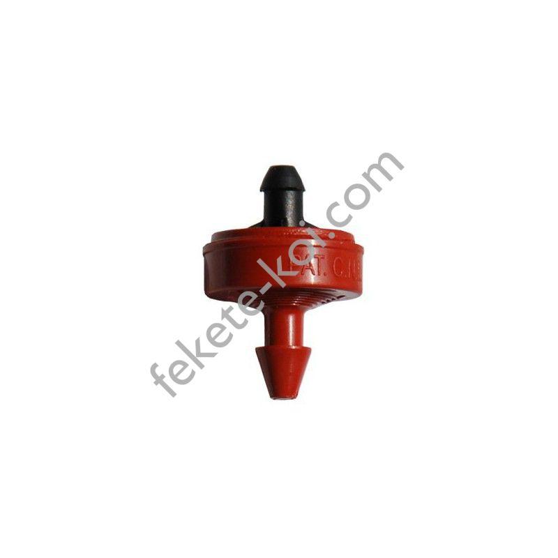 Netafim PCJ LCNL 2L/h nyomáskompenzált, öntisztító csepegtető gomba körmös (vörös)