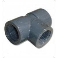 PVC belső menetes T idom több méretben, legjobb áron raktáron.
