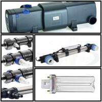 Uvc lámpák szűrők sterilizálók és izzók minden méretben és típusban.