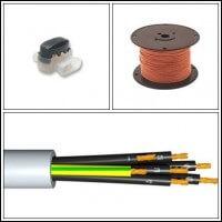 Vezérlő kábelek öntöző vezérlőkhöz,mágnes szelepekhez.Kedvező árak!
